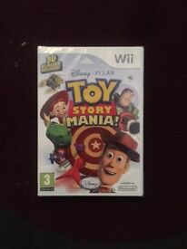 Wii Toy Story Game - brand new unopened