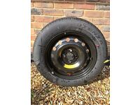Honda Civic Coupe 2003 spare wheel and tyre unused -