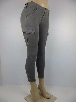 Nwt J Brand Womens Jeans  Cropped Houlihan  Skinny Cargo  Size 26  Retail  268