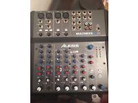 Alesis Multimix 8 USB FX Mixer / Usb Audio DJ Mixer