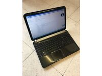 Laptop HP Pavillion, Solid State Drive, Quad Core, Windows 7, Free Delivery Northampton.
