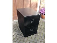 Filing cabinet, two drawer with keys