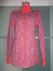 Lululemon Reversible Jacket Orange Pink  Walk To and From Studio