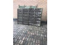 FREE to collect 8 used fence panels 6x4 free of charge