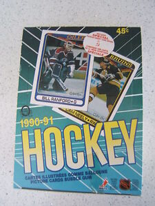 1990 91 OPC Hockey Box 36 packs! Includes USSR Inserts!