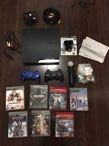 PS3 320 Gb avec deux console, PS3 Move et 7 jeux