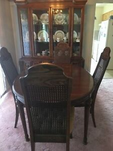 pecan dining room set