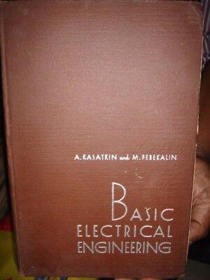 INDIA RARE - BASIC ELECTRICAL ENGINEERING A. KASATKIN & M. PEREKALIN IN ENGLISH