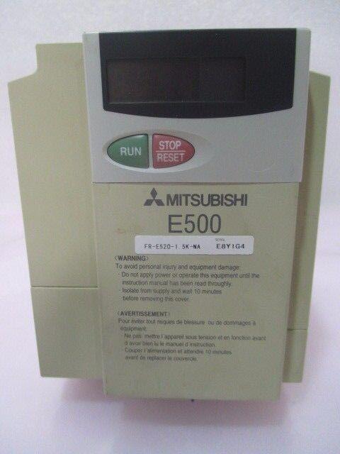 Mitsubishi FR-E520-1.5K Inverter, E500, Freqrol-E500, 422992