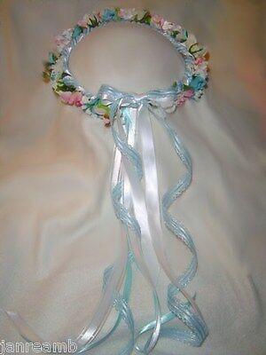 Pink Renaissance Headband - Flower Crown -