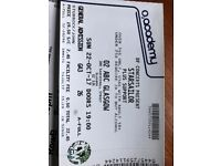 Starsailor in Glasgow 22 October 02 Acedemy, Gen Admission £19.50