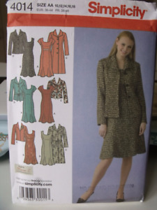 Dress, Coat and Jacket Pattern