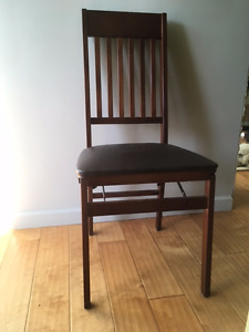 WOODEN HIGH BACK CHAIRS