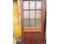 Two wooden doors for sale