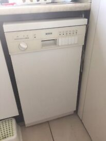 Good Working Condition BOSCH Dishwasher slim perfect for small kitchen