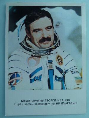 Georgi Iwanow (RUS), Kosmonaut - Karte / Autogrammkarte (unsigniert)