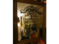 CAMRA (The Campaign for Real Ale) Pub / Bar Mirror, Large