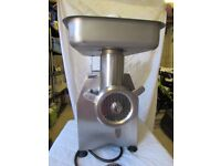 La Minerva A-E32 Professional Counter Top Stainless Steel Meat Mincer
