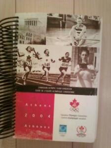 2004 Canadian Summer Olympic Team Handbook for sale