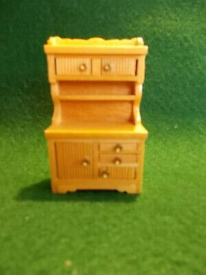 Dollhouse1:24 Scale Kitchen Sink and Hooiser Style Cabinet