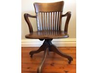 Antique Period Office Chair