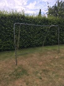 Football goal for the garden, 10ft wide x 6ft high,