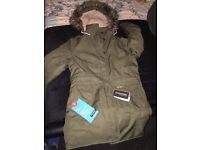 Womens craghoppers coat, size 14 brand new never been worn!
