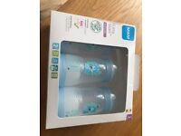 MAM Feeding Bottles. Set of three.