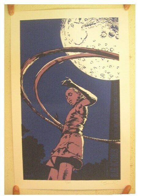 Blue October Poster Signed And Numbered By Artist Billy Perkins Hoola Hoop