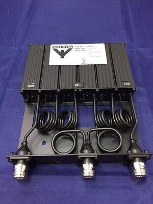 **NEW Procom DPF2/6L-8/10 VHF Duplexer Duplex Filter