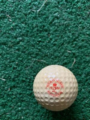 Vintage Dunlop / Rutgers Alumni Assoc. logo golf ball