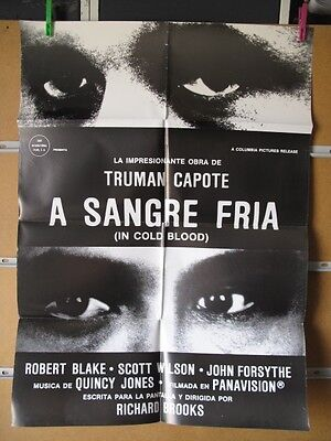 A SANGRE FRIA ROBERT BLAKE RICHARD BROOKS