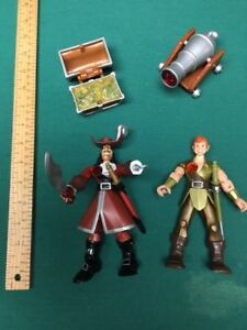 toy - PETER PAN & CAPTAIN HOOK figures and accessories