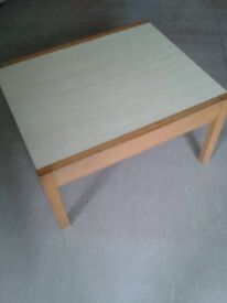 Formica Top Old Office Coffee Table