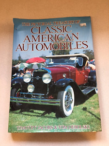 VINTAGE COLLECTOR CAR BOOKS AND MANUALS