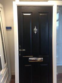 BRAND NEW Black Composite Front Door for sale in Birmingham