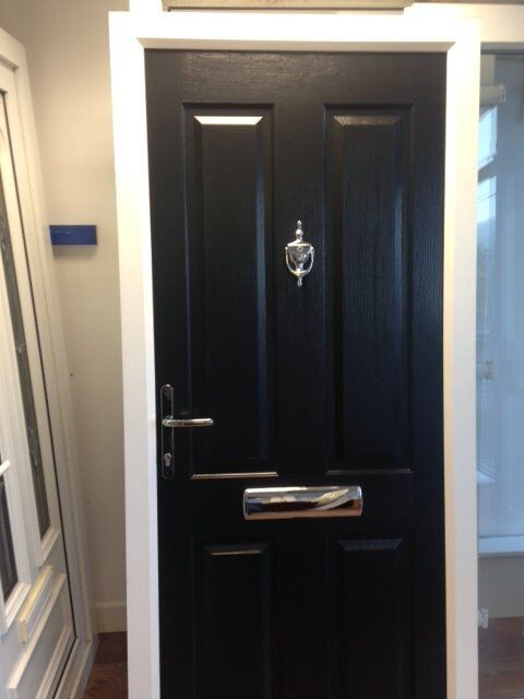 BRAND NEW Black Composite Front Door for sale in Birmingham (SOLD - Others available)