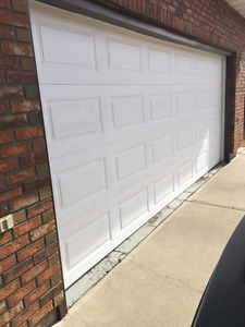 Aluminum insulated garage door panels 8' x 16'