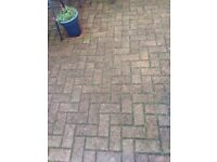 Block Paving for sale (used/Brindle)