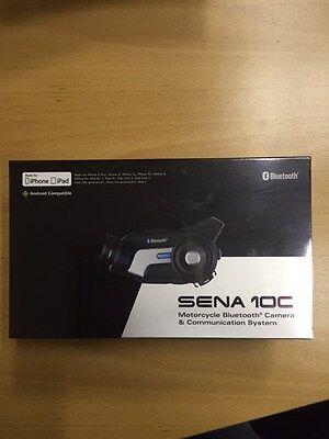 SENA 10C-01 Motorcycle Bluetooth Camera & Communication System