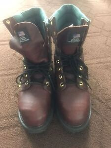Geniune leather working boots