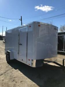 NEW 2020  6 X 10 ENCLOSED CARGO TRAILER