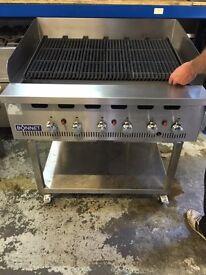 BONNETT 6 Burner Gas Chargrill broiler with water tray also 10 burners in stock