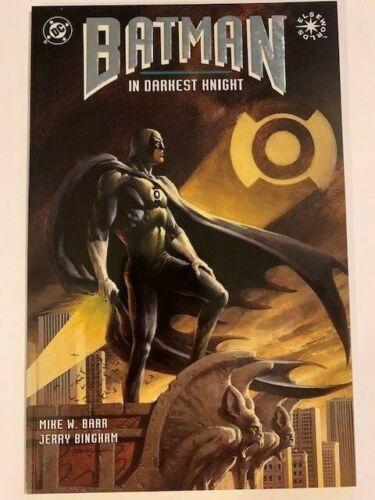 Batman In Darkest Knight #1 OGN Graphic Novel 1st Print ELSEWORLDS Green Lantern