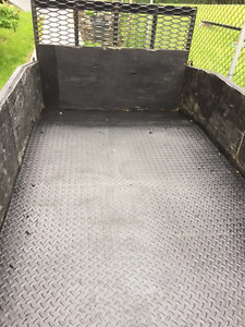 Heavy Duty Custom Built Cargo Trailer