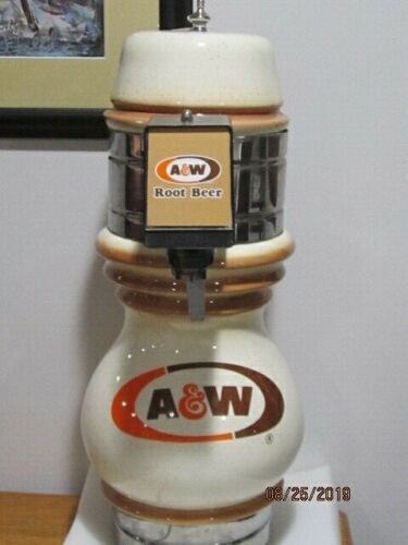 VINTAGE A and W ROOTBEER SODA FOUNTAIN DESENSER