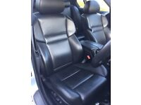 BMW 5 Series E60 M5 Black Leather Heated Active Memory Seats Doorcards Interior