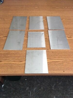 14 Gauge Stainless Steel Sheet Metal Scrap Hho 304 7 Pcs