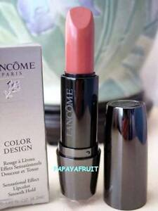 21-NIB-Lancome-Color-Design-Cream-Lipstick-QUARTZ-KISS