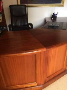 Executive Jarrah  desk